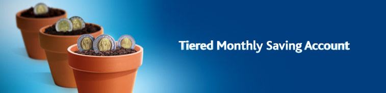 Tiered Monthly Saving Account